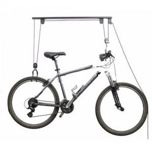 Držiak na bicykel kladkový - stropný držiak
