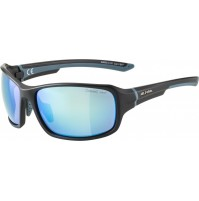 ALPINA Okuliare LYRON čierno-dirtblue, modré sklá