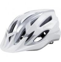 Cyklistická prilba ALPINA MTB 17 bielo-strieborná