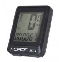Cyklocomputer FORCE 10 funkcií