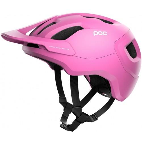 POC Cyklistická prilba Axion SPIN Actinium Pink Matt