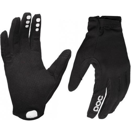 POC Cyklistické rukavice Resistance Enduro Glove Uranium black