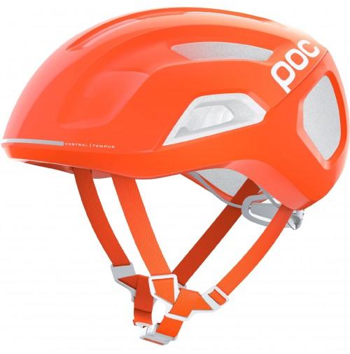POC Cyklistická prilba Ventral Tempus SPIN  Fluorescent Orange AVIP