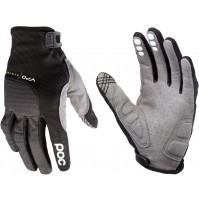 POC Cyklistické rukavice Resistance Pro DH Glove Uranium Black