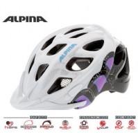 Cyklistická prilba ALPINA Rocky bielo-ružovo-titánová