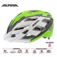 Cyklistická prilba ALPINA PANOMA L.E bielo-zeleno-čierna