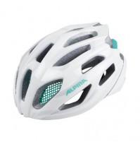 Cyklistická prilba ALPINA FEDAIA bielo-smaragdová