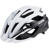 Cyklistická prilba ALPINA Valparola XC bielo-čierna