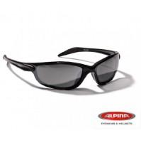 Cyklistické okuliare Alpina Tri Lines čierne matné