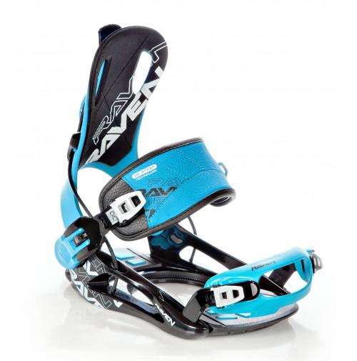 Snowboardové viazanie Raven FT270 Blue