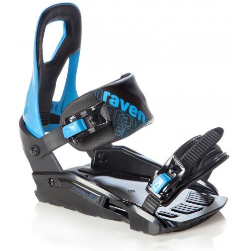 SNOWBOARDOVÉ VIAZANIE RAVEN S200 Blue