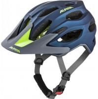 ALPINA Cyklistická prilba Carapax 2.0 tmavomodrá-neon