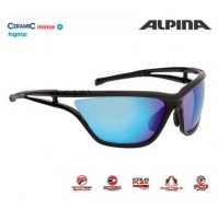 Cyklistické okuliare Alpina EYE-5 CM+ čierne