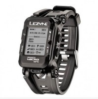 Športové GPS hodinky LEZYNE Micro HR čierne