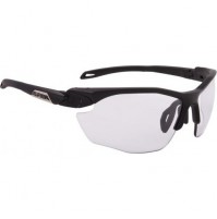 Cyklistické okuliare Alpina TWIST FIVE HR VL+ čierne matné