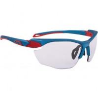 Cyklistické okuliare Alpina TWIST FIVE HR VL+ modro-červené