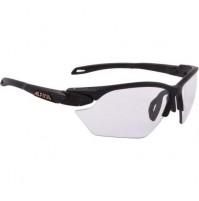 Cyklistické okuliare Alpina Twist Five S VL+ čierne matné