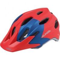 Cyklistická prilba ALPINA Carapax JR. červeno-modrá