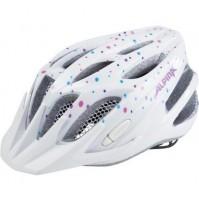 Cyklistická prilba ALPINA FB JUNIOR 2.0 Flash bielo-bodkovaná