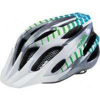 Cyklistická prilba ALPINA FB JUNIOR 2.0 Flash bielo-sivá