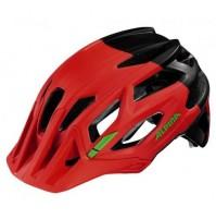 Cyklistická prilba ALPINA Garbanzo neónovo červeno - čierna