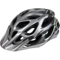 Cyklistická prilba ALPINA MYTHOS 2.0 tmavostrieborná-titánovo-zelená