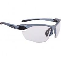 Cyklistické okuliare Alpina TWIST FIVE HR VL+ titánovo-čierne