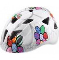 Cyklistická prilba ALPINA Ximo biele kvetiny