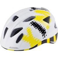 Cyklistická prilba ALPINA Ximo Flash bielo-čierno-žltá