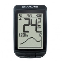 SIGMA Cyklocomputer PURE GPS čierny