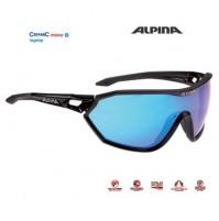 Okuliare Alpina S-WAY CM+ čierne matné