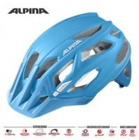Cyklistická prilba ALPINA Garbanzo modro-biela