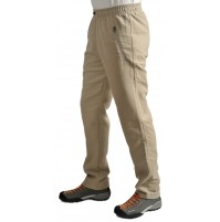 Pánske nohavice BENESPORT Abov krémové