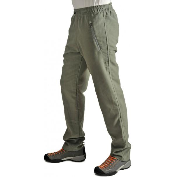 Pánske nohavice BENESPORT Abov  svetlozelené