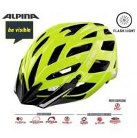Cyklistická prilba ALPINA PANOMA CITY Be Visible reflexná