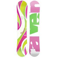 SNOWBOARD RAVEN VENUS GREEN /PINK