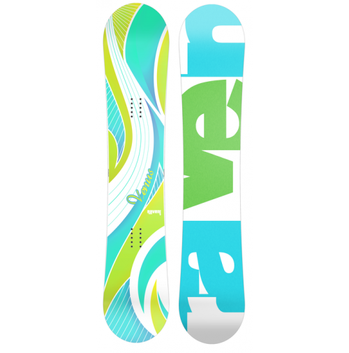 Snowboard RAVEN Venus Blue/Green
