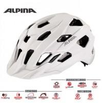 Cyklistická prilba ALPINA Yedon biela