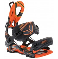 Snowboardové viazanie SP Core Black/Orange FT 2014