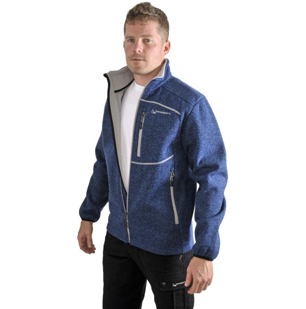 Pánska bunda BENESPORT Záhorie modrá