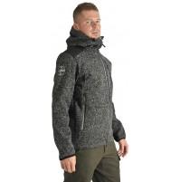 Pánska bunda BENESPORT Gerlach tmavo-sivá