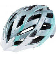 Cyklistická prilba ALPINA PANOMA oceľovo sivo-smaragdová