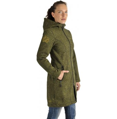 Dámska bunda BENESPORT Pekelník zelená