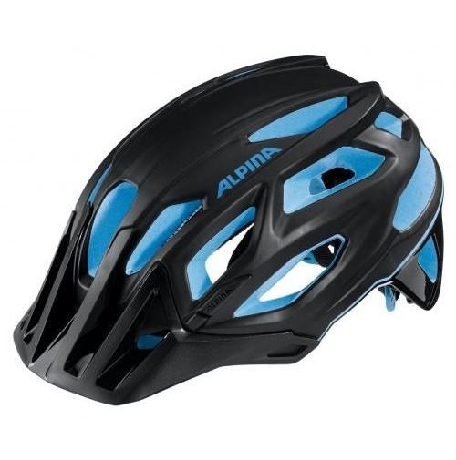 Cyklistická prilba ALPINA Garbanzo čierno-modrá