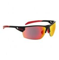 Cyklistické okuliare Alpina TRI-SCRAY čierno-červené