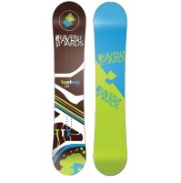 SNOWBOARD RAVEN TTT BROWN 2015