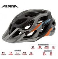 Cyklistická prilba ALPINA MYTHOS 2.0 L.E. tmavostrieborno-modro-oranžová
