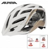 Cyklistická prilba ALPINA PANOMA L.E biela-prosecco