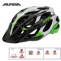 Cyklistická prilba ALPINA MYTHOS 2.0 čierno-bielo-zelená
