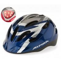 Cyklistická prilba ALPINA GAMMA FLASH modro-strieborná